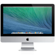 iMac 21.5-inch, Intel Quad-Core i5 2.7 GHz (Turbo Boost jopa 3.2 GHz), 8 GB, 1 TB, Tuotteen ikä: 51 kuukautta