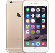 iPhone 6, 16 GB, Kulta, Tuotteen ikä: 16 kuukautta