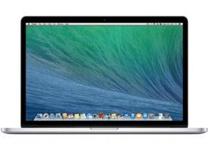 MacBook Pro 15-inch Retina, Intel Quad-Core i7 2.6 GHz (Turbo Boost jopa 3.8 GHz), 16 GB    , 1 TB SSD