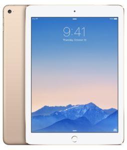 iPad Air 2 (Wi-Fi), 64 GB, Kulta