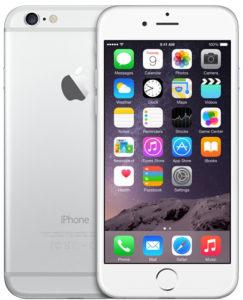 iPhone 6, 16 GB, Hopea, Tuotteen ikä: 37 kuukautta
