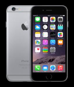 iPhone 6, 32 GB, Harmaa