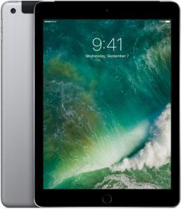 iPad (5th gen) Wi-Fi, 32 GB, Tähtiharmaa, Tuotteen ikä: 2 kuukautta