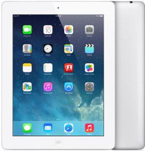 iPad 4th gen (Wi-Fi + 4G), 64 GB, Valkoinen, Tuotteen ikä: 70 kuukautta