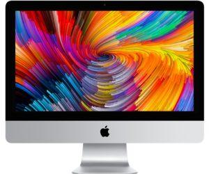 iMac (Retina 4K 21.5-inch 2017), Intel Quad-Core i5 3.4 GHz (Turbo Boost jopa 3.8 GHz), 8 GB  , 1 TB Fusion Drive, Tuotteen ikä: 11 kuukautta