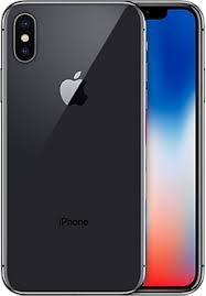 iPhone X, 256 GB, Harmaa
