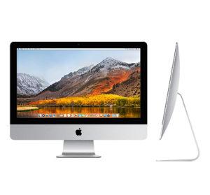 "iMac 21.5"" Mid 2017 (Intel Core i5 2.3 GHz 8 GB RAM 1 TB HDD), Intel Core i5 2.3 GHz (Turbo Boost jopa 3.6 GHz), 8 GB, 1 TB HDD"