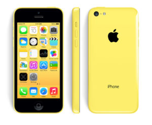 iPhone 5C 8GB, 8 GB, Keltainen