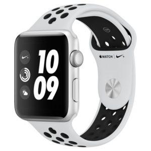 Watch Series 3 (42mm), White/black Nike