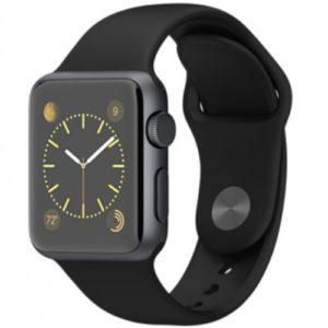 Watch Series 1 Aluminum (38mm), black