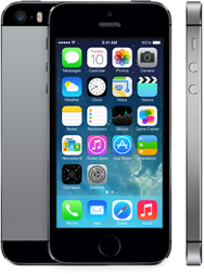 iPhone 5S 32GB, 32 GB, Gray