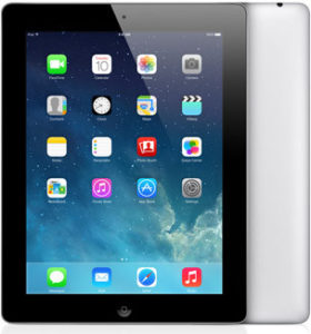 iPad 4 Wi-Fi + Cellular 64GB, 64 GB, Black