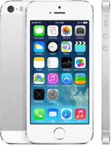 iPhone 5S 16GB, 16 GB, Silver