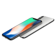 iPhone X 256GB, 256 GB, Silver