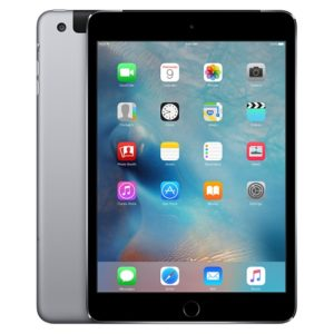 iPad mini 3 Wi-Fi + Cellular 64GB, 64GB, Gray