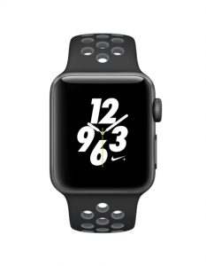 Watch Series 3 Aluminum (42mm), Black nike