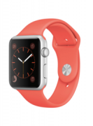 Watch Series 2 Aluminum (42mm), Red