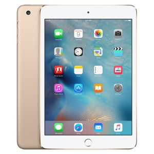 iPad mini 3 Wi-Fi + Cellular 16GB, 16 GB, Gold