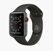 Watch Series 3 Aluminum (42mm), SPACE GRAY