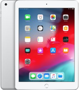 iPad 6 Wi-Fi + Cellular 128GB, 128 GB, Silver