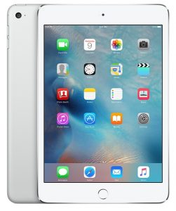 iPad mini 4 Wi-Fi + Cellular 16GB, 16 GB, Silver
