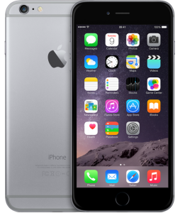 iPhone 6 Plus 16GB, 16GB, Space Gray
