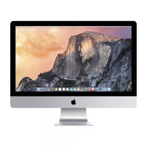 """iMac 27"""" Retina 5K Mid 2015 (Intel Quad-Core i5 3.3 GHz 16 GB RAM 1 TB HDD), Intel Quad-Core i5 3.3 GHz, 16 GB RAM, 1 TB HDD"""