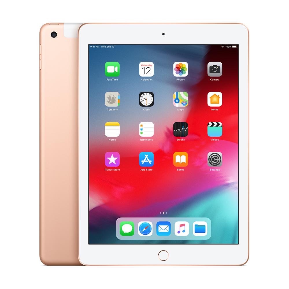 iPad 6 Wi-Fi + Cellular, 128GB, Gold
