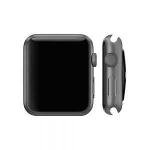 Watch 1st gen Sport (42mm), Space Gray, Black Sport Band