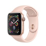 Watch Series 4 Aluminum (44mm), Gold, Pink Sand Sport Loop