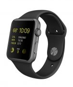 Watch Series 2 Aluminum (42mm), Space Gray, Black Sport Band