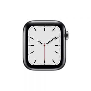 Watch Series 5 Steel Cellular (44mm), Space Black