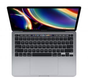"""MacBook Pro 13"""" 4TBT Mid 2020 (Intel Quad-Core i7 2.3 GHz 16 GB RAM 1 TB SSD), Space Gray, Intel Quad-Core i7 2.3 GHz, 16 GB RAM, 1 TB SSD"""