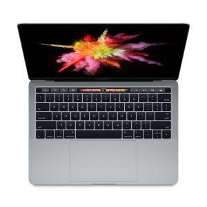 """MacBook Pro 13"""" 4TBT Mid 2017 (Intel Core i7 3.5 GHz 16 GB RAM 512 GB SSD), Space Gray, Intel Core i7 3.5 GHz, 16 GB RAM, 256 GB SSD"""