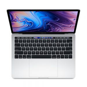 "MacBook Pro 13"" 4TBT Mid 2019 (Intel Quad-Core i5 2.4 GHz 8 GB RAM 512 GB SSD), Silver, Intel Quad-Core i5 2.4 GHz, 8 GB RAM, 512 GB SSD"