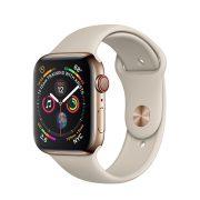 Watch Series 4 Steel Cellular (44mm), Gold, Milanese Loop