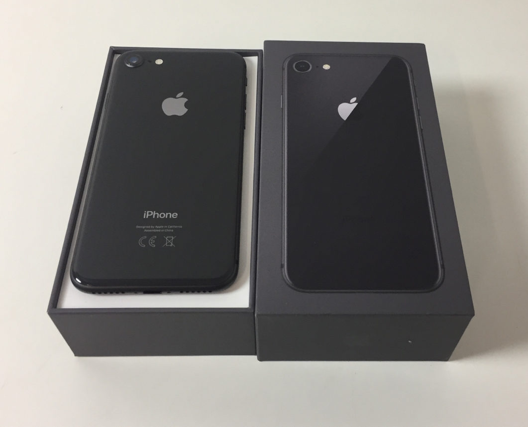 iPhone 8 64GB, 64 GB, Harmaa, Kuva 2