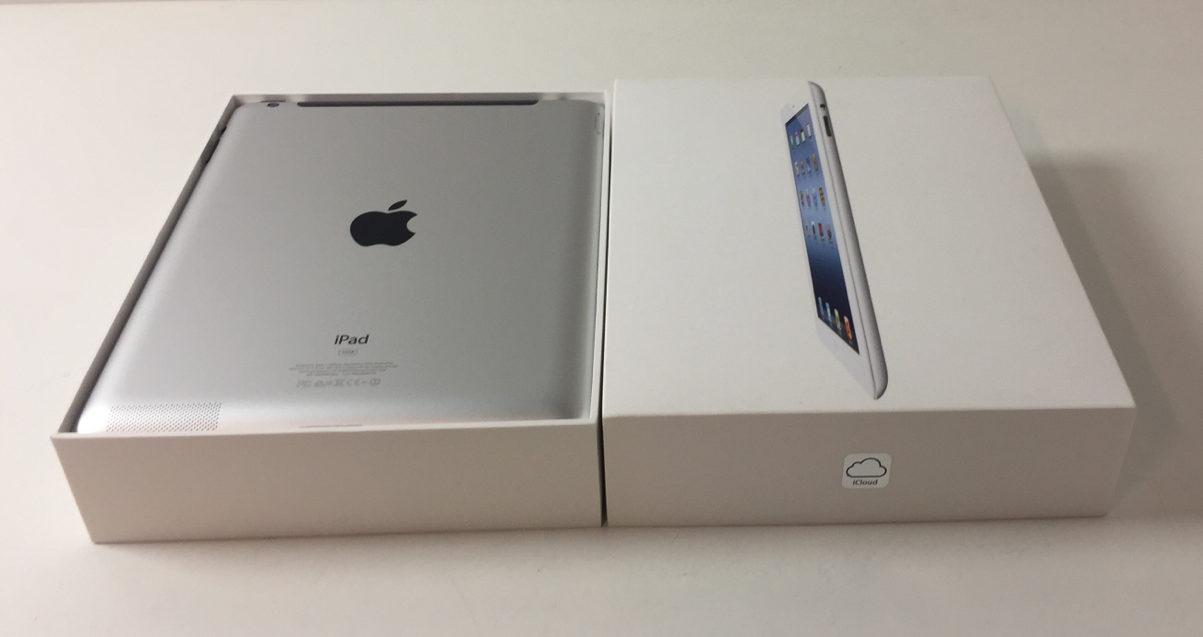 iPad 3 Wi-Fi + Cellular 16GB, 16 GB, White, Kuva 2