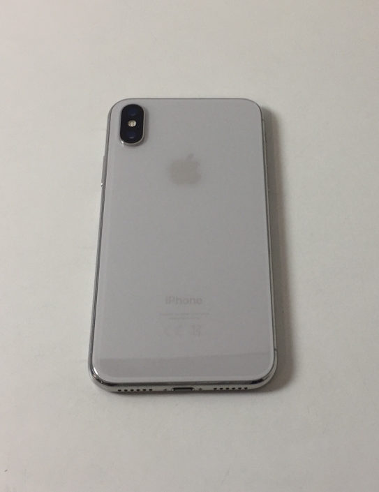 iPhone X 256GB, 256 GB, Silver, bild 2