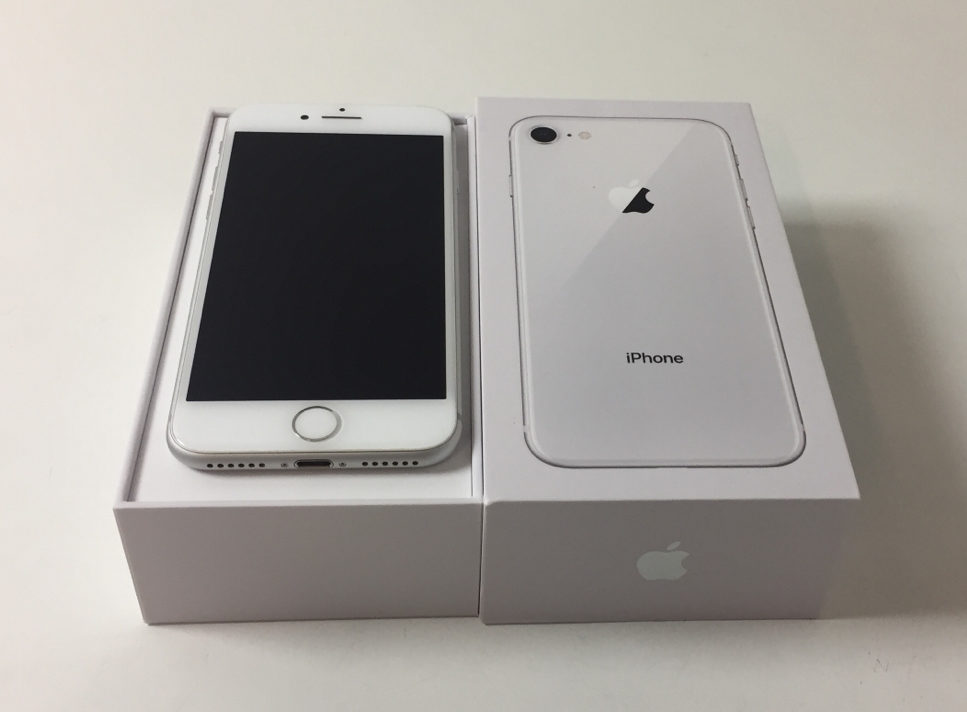 iPhone 8 64GB, 64 GB, Silver, Kuva 1