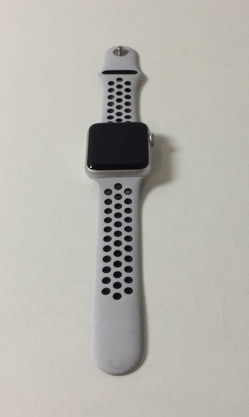 Watch Series 3 Aluminum (42mm), White/black Nike, Kuva 1