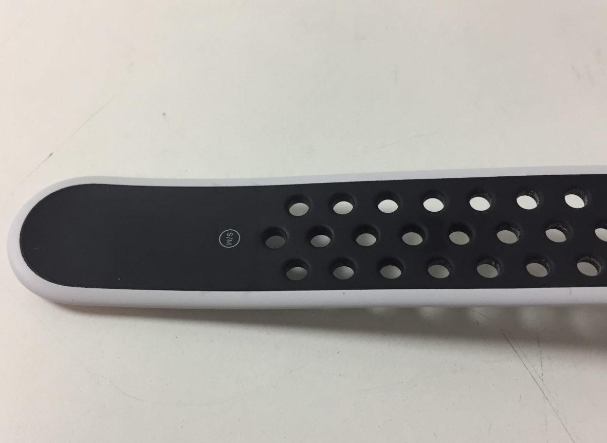 Watch Series 3 Aluminum (42mm), White/black Nike, Kuva 4