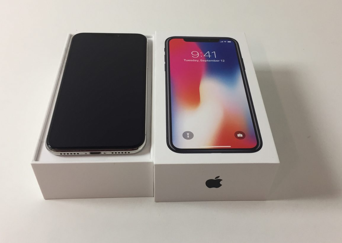 iPhone X 64GB, 64 GB, Silver, imagen 1