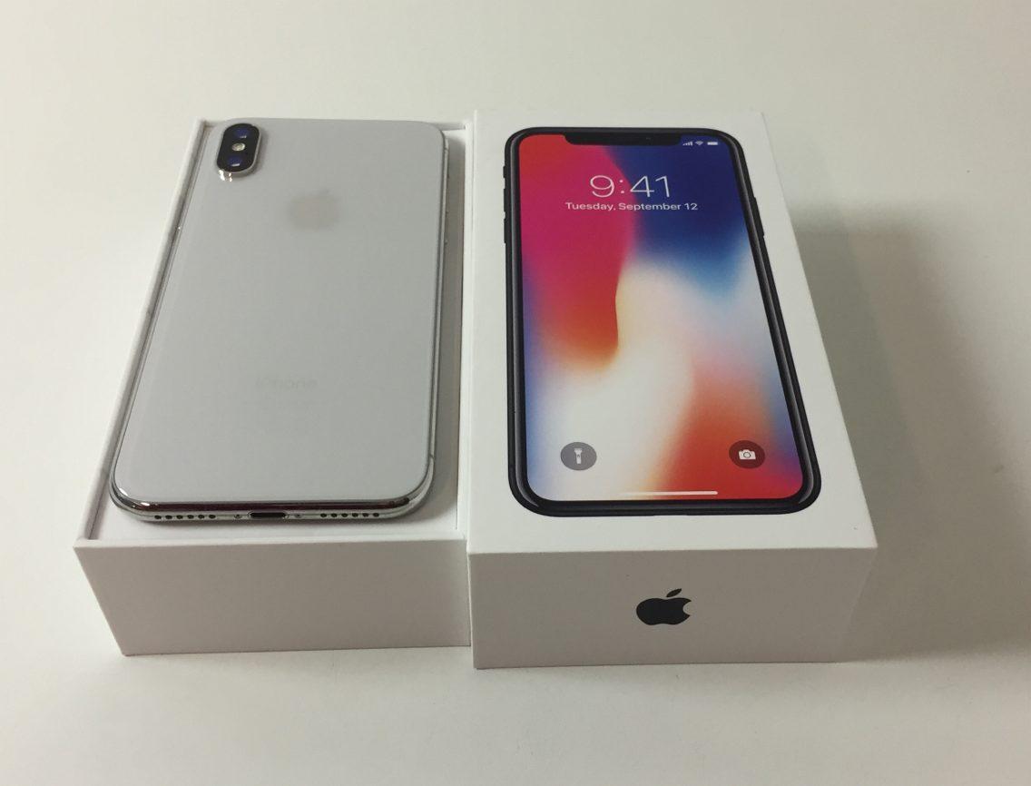 iPhone X 64GB, 64 GB, Silver, imagen 2