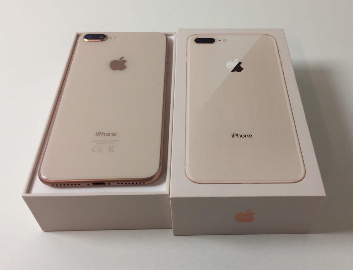 iPhone 8 Plus 64GB, 64 GB, Gold, Kuva 2