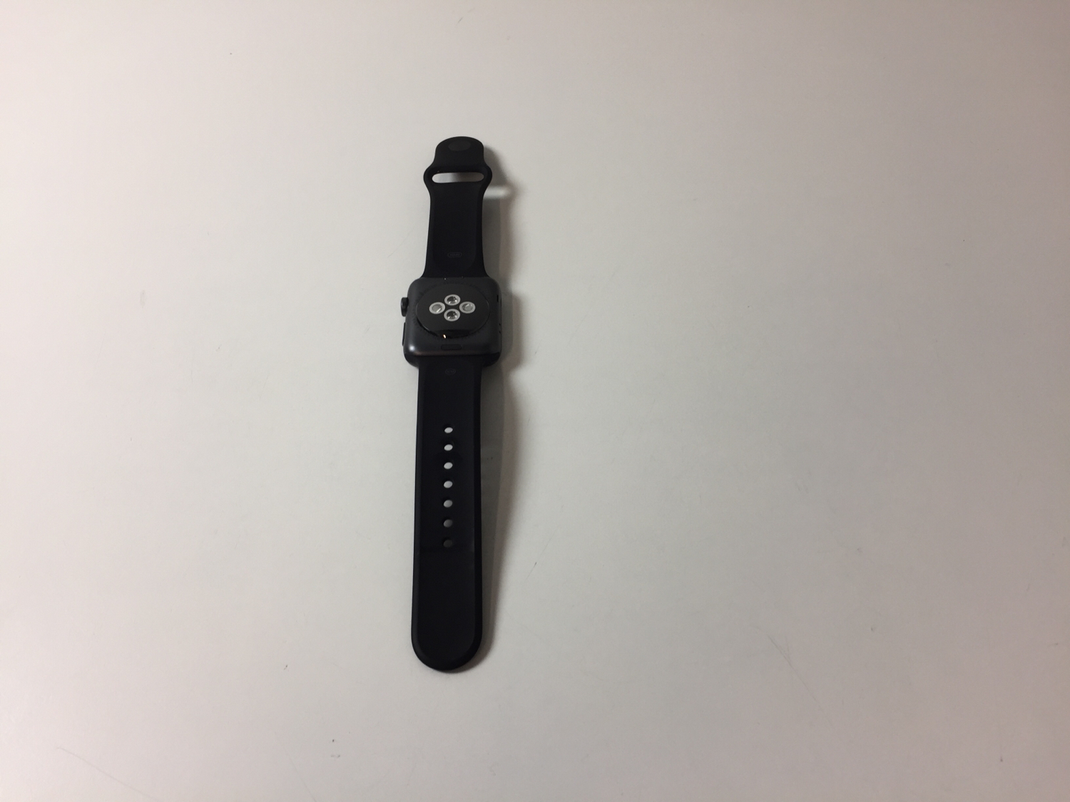 Watch Series 2 Aluminum (42mm), Black, imagen 2
