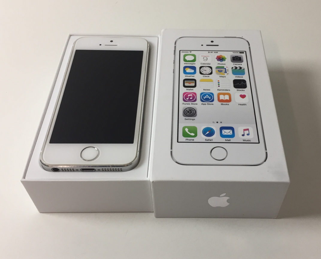 iPhone 5S 16GB, 16 GB, Silver, Kuva 1