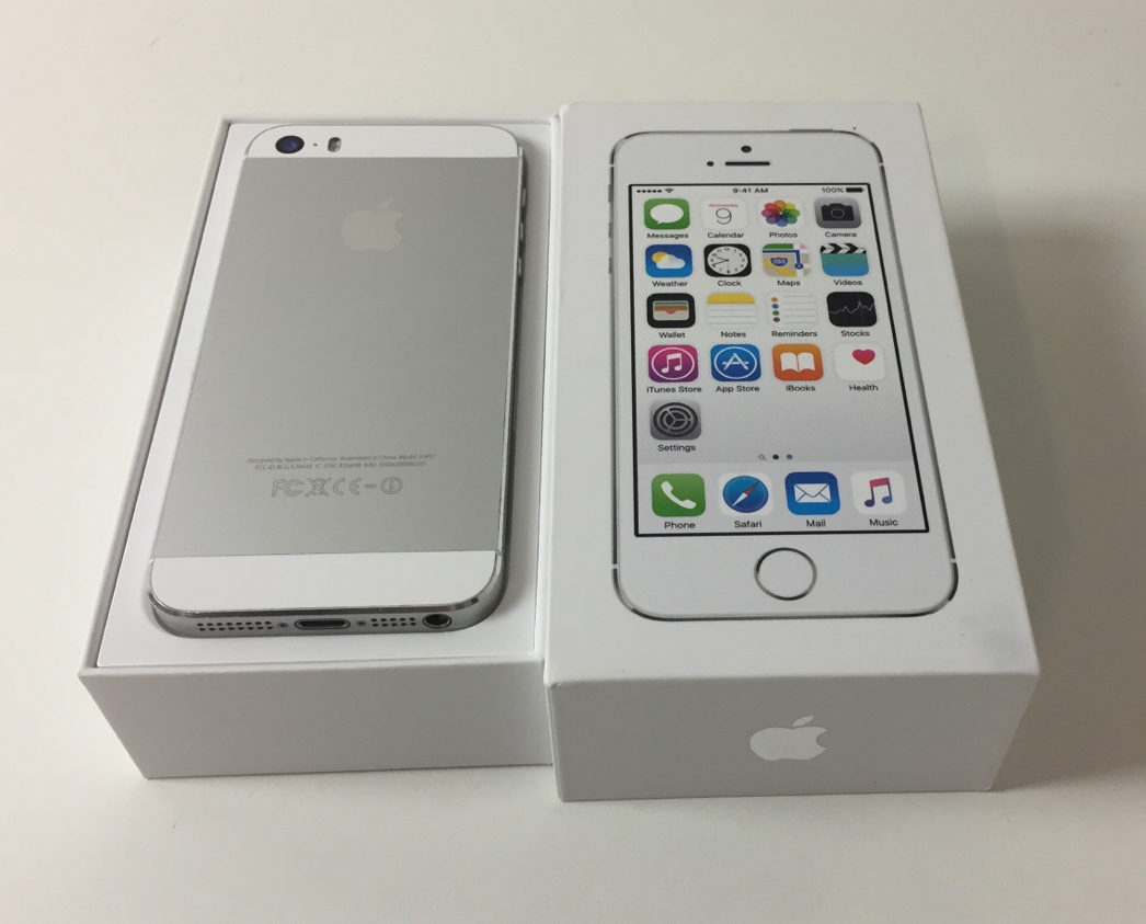 iPhone 5S 16GB, 16 GB, Silver, Kuva 2