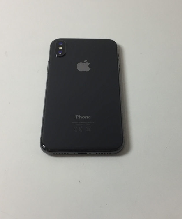 iPhone X 256GB, 256GB, Space Gray, bild 2