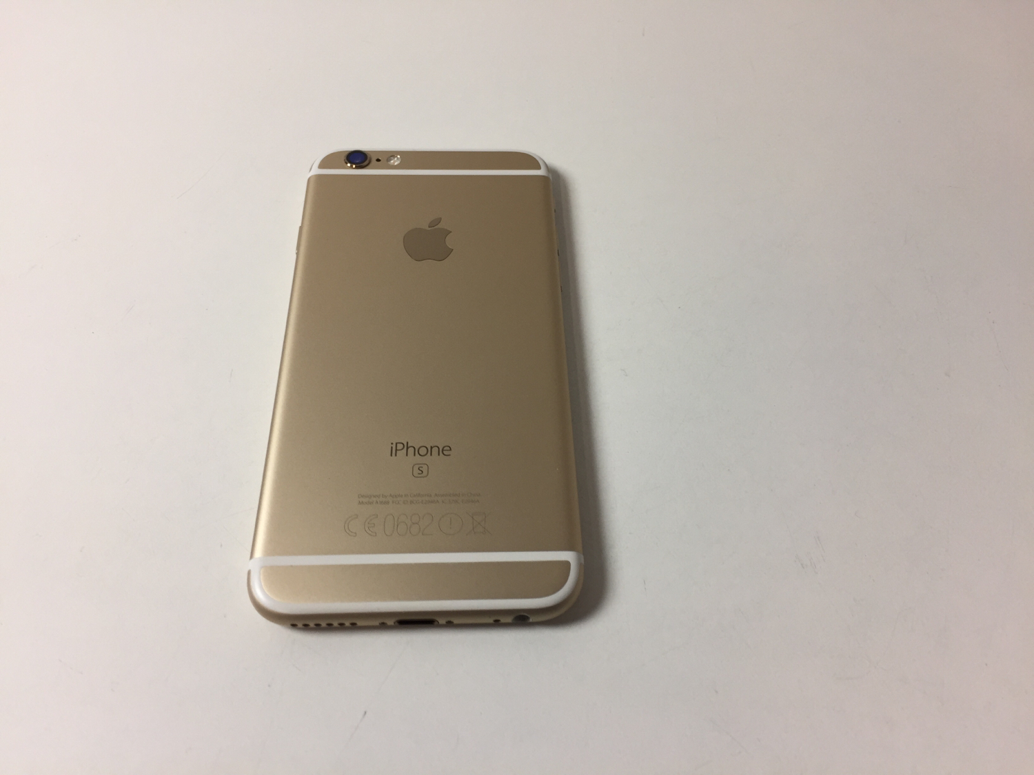 iPhone 6S 128GB, 128GB, Gold, Kuva 2